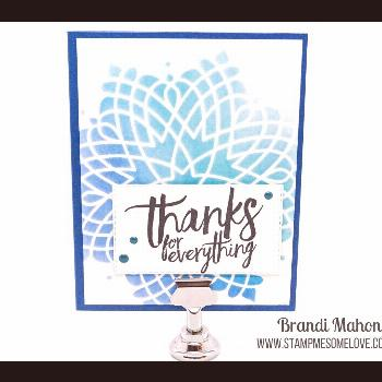 Simple Stencil Background Watch this video tutorial on how to create simple stenciled backgrounds u
