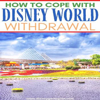 Walt Disney World Withdrawal is the real deal. Leaving Disney World is never easy. Here are some wa