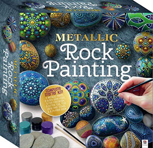 Metallic Rock Painting-This Complete Starter Kit includes